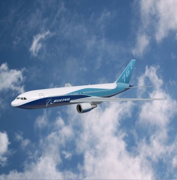 Boeing 767-200 commercial aircraft - 3DOcean Item for Sale