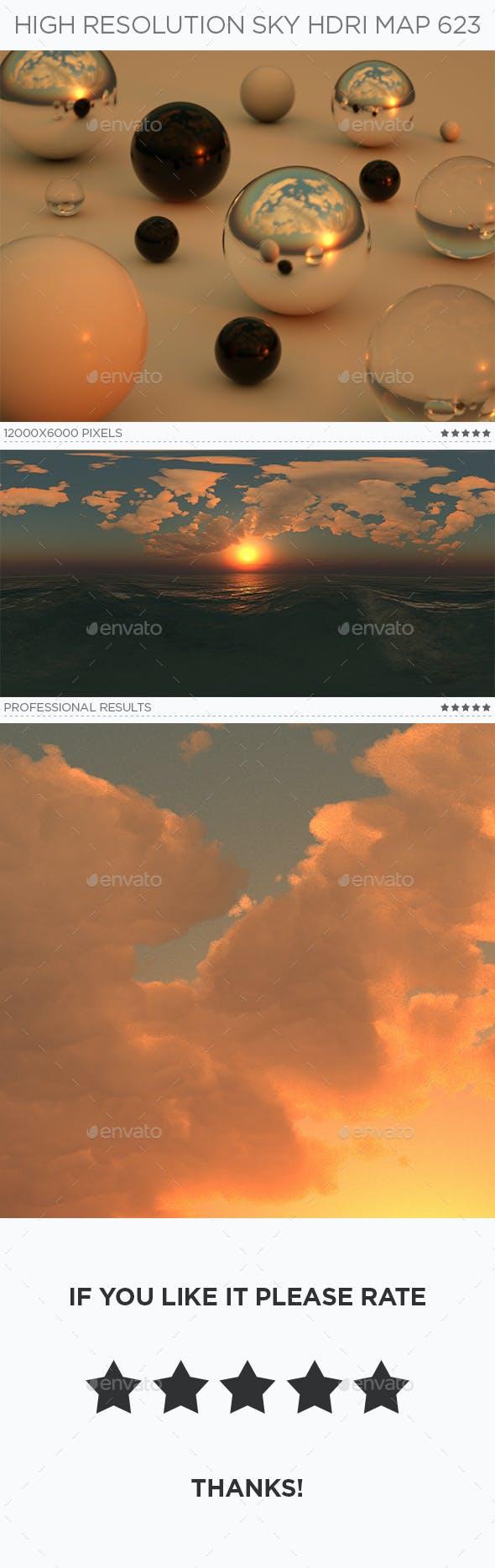 High Resolution Sky HDRi Map 623 - 3DOcean Item for Sale