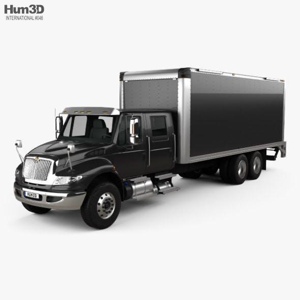 International Durastar Crew Cab Box Truck 2017
