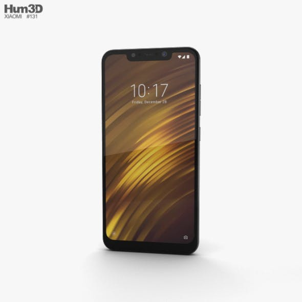 Xiaomi Pocophone F1 Armored Edition with Kevlar - 3DOcean Item for Sale