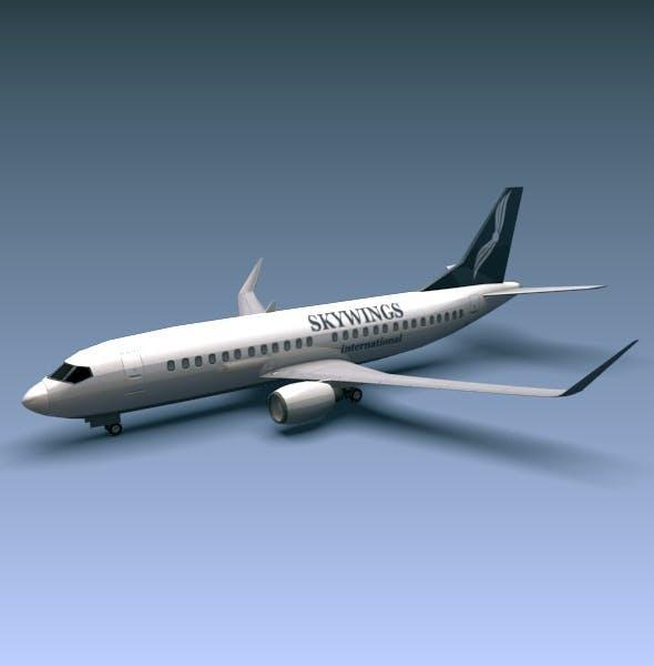 Boeing 737-300w - 3DOcean Item for Sale