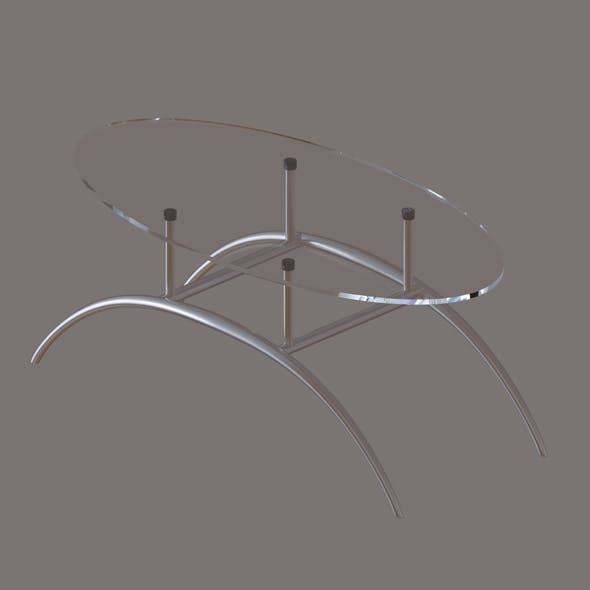 glass coffee table - 3DOcean Item for Sale