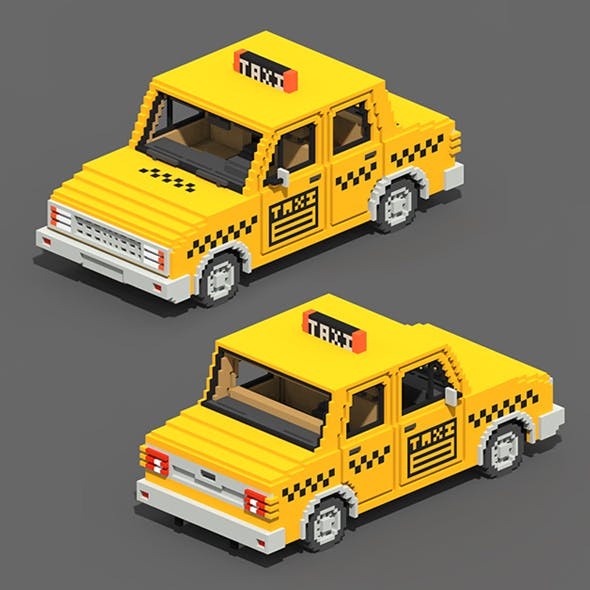 Voxel Taxi
