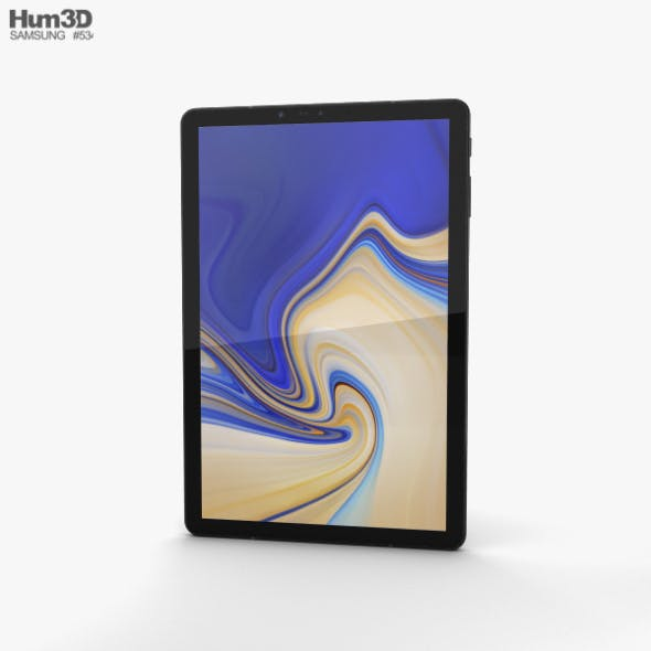 Samsung Galaxy Tab S4 10.5-inch Black - 3DOcean Item for Sale