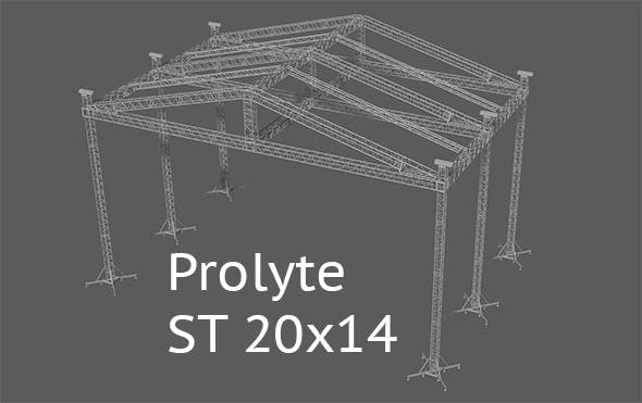 Prolyte ST 20x14 roof - 3DOcean Item for Sale
