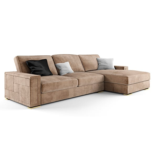 Asnaghi Pixel Sofa (Italia). - 3DOcean Item for Sale