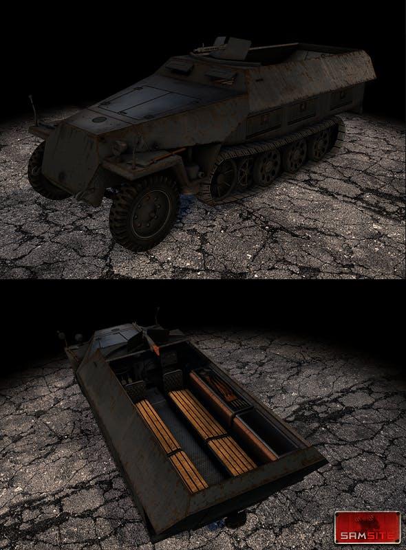 Sdkfz251 - 3DOcean Item for Sale