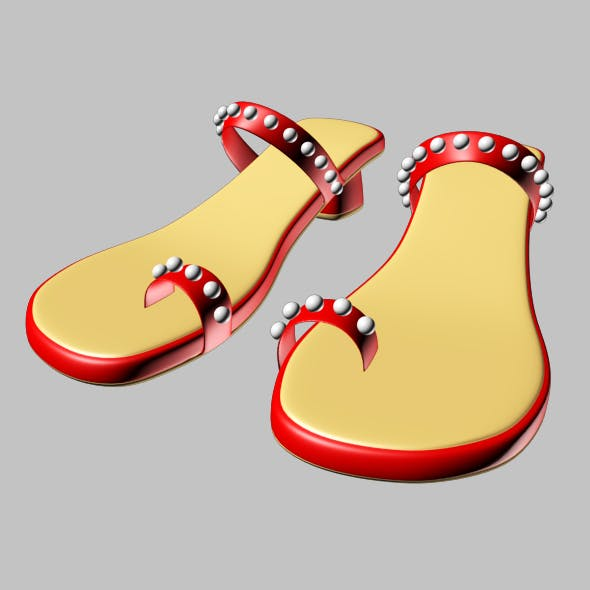 Thong Slide Sandals 01
