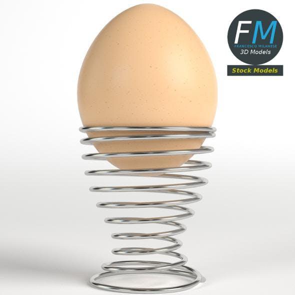 Egg on a holder - 3DOcean Item for Sale