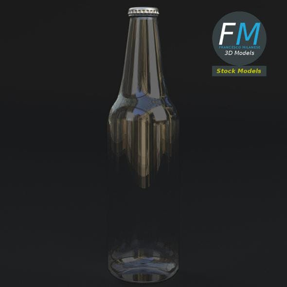 Empty beer bottle - 3DOcean Item for Sale