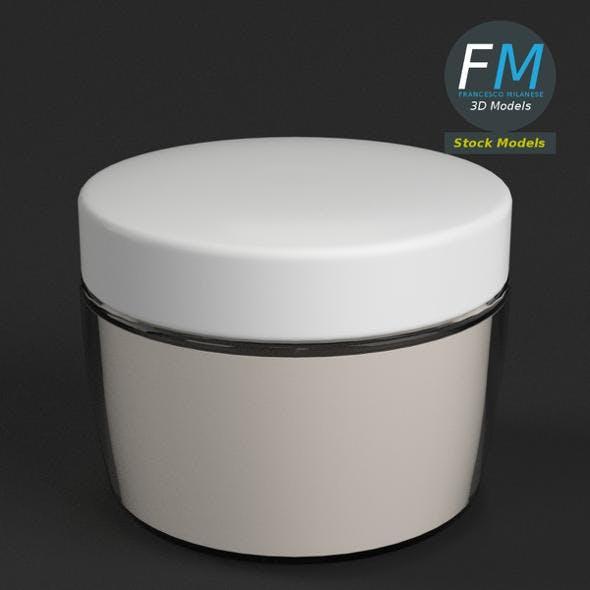 Face cream jar - 3DOcean Item for Sale