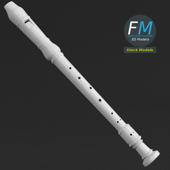 Flute - 3DOcean Item for Sale