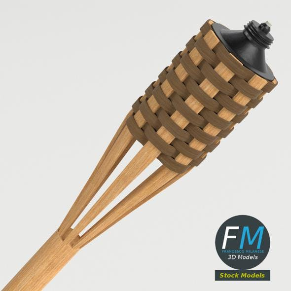 Garden Torch 2 - 3DOcean Item for Sale