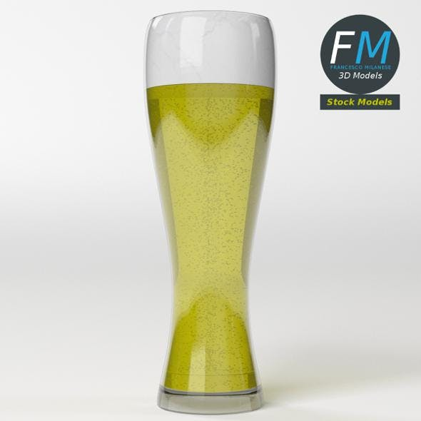 Glass with beer 11