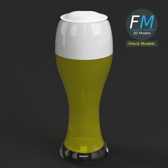 Glass with beer 6