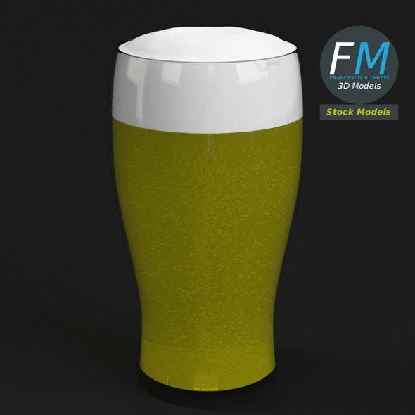 Glass with beer 9