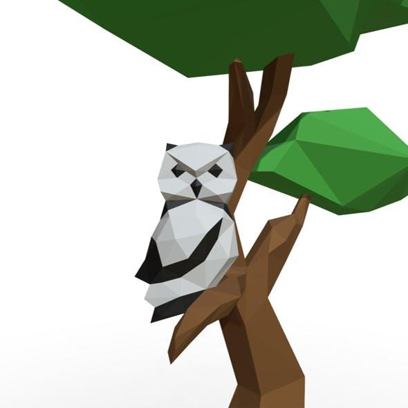 Owl - 3DOcean Item for Sale