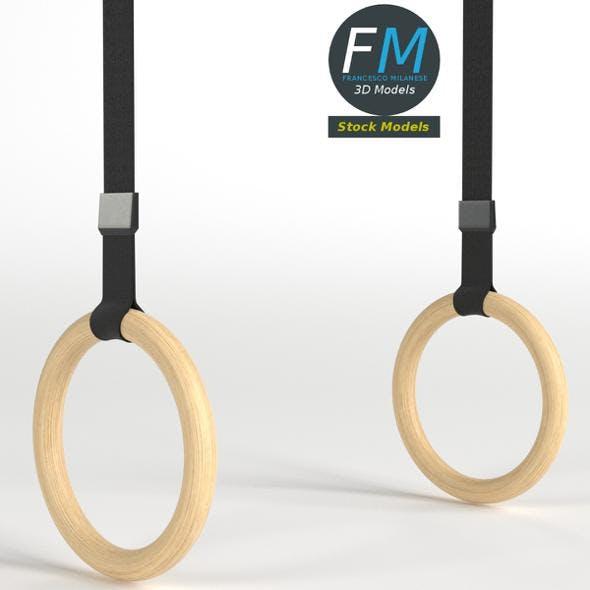 Gymnastics rings - 3DOcean Item for Sale