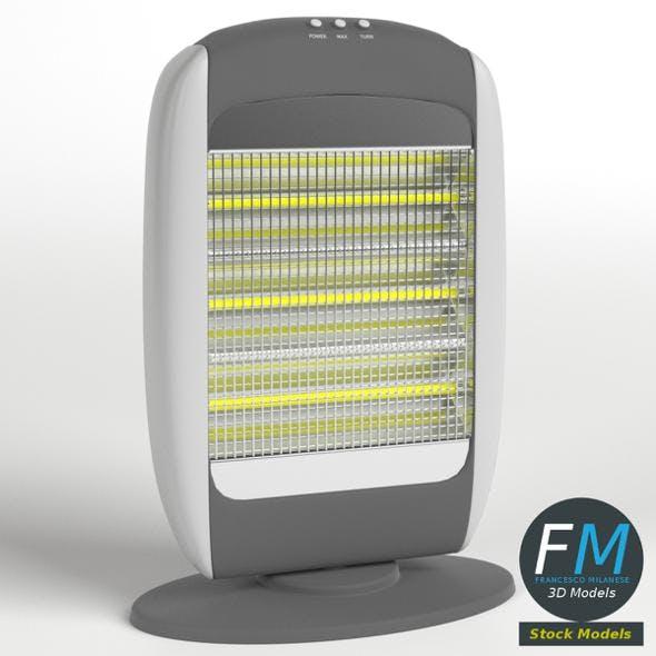 Halogen heater - 3DOcean Item for Sale