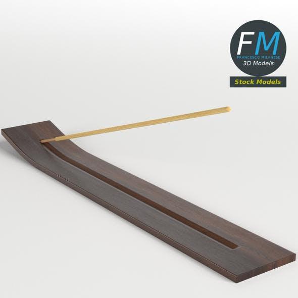 Incense stick on holder - 3DOcean Item for Sale