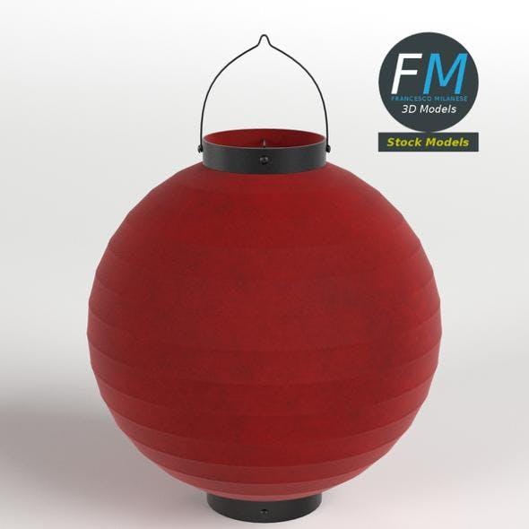 Japanese paper lantern 1 - 3DOcean Item for Sale