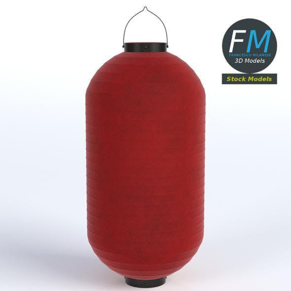 Japanese paper lantern 2 - 3DOcean Item for Sale