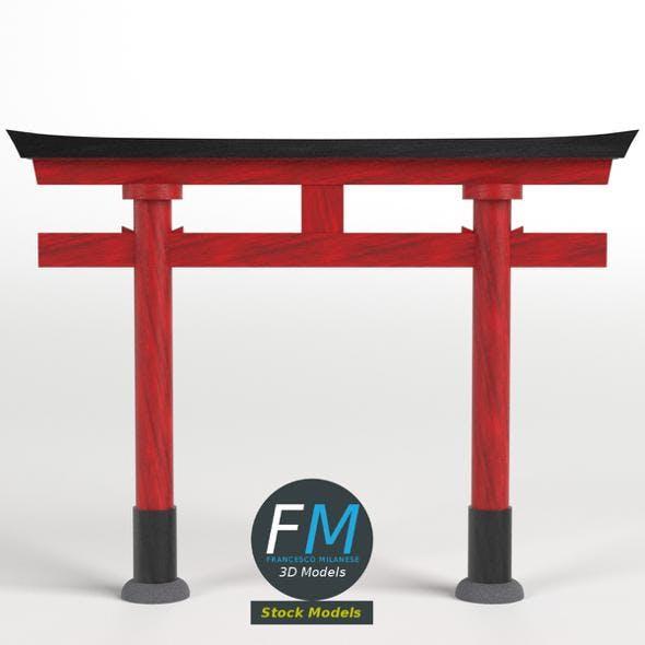 Japanese Torii gate - 3DOcean Item for Sale