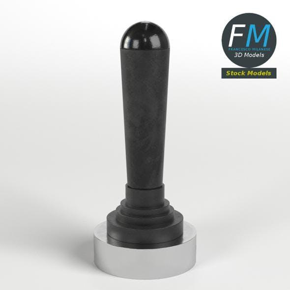 Joystick lever valve