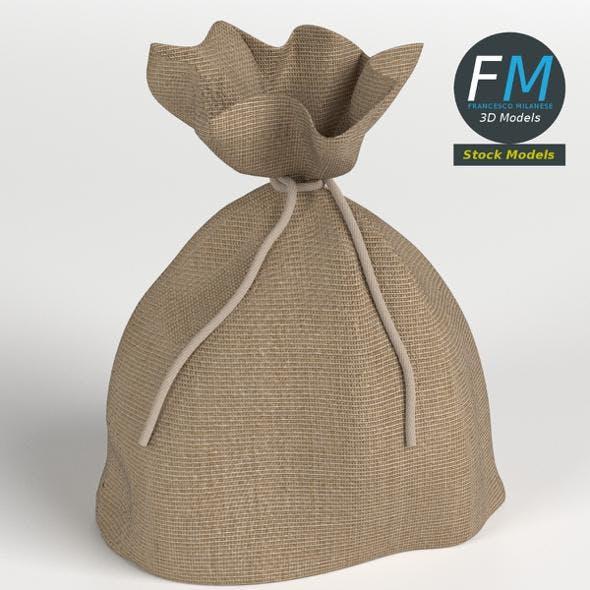 Jute sack - 3DOcean Item for Sale