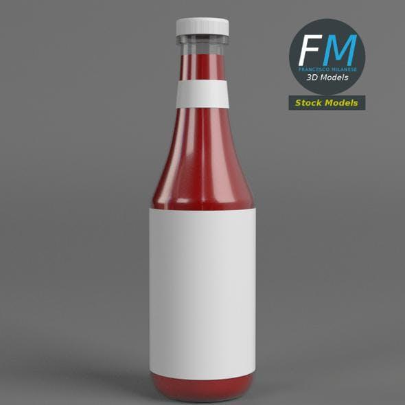 Ketchup bottle - 3DOcean Item for Sale
