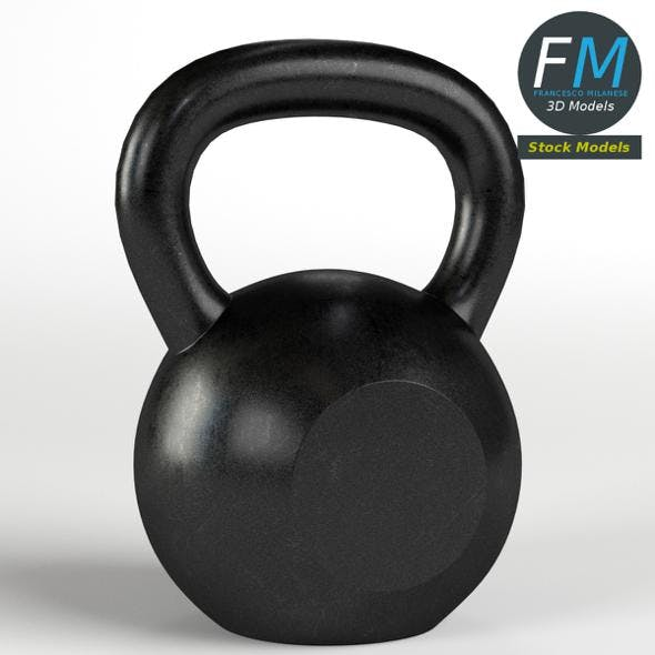 Kettlebell gym equipment