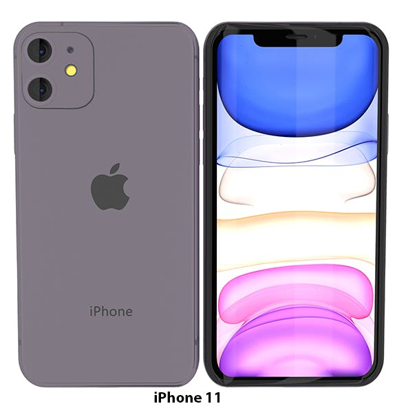 iPhone 11 Realistic Model - 3DOcean Item for Sale