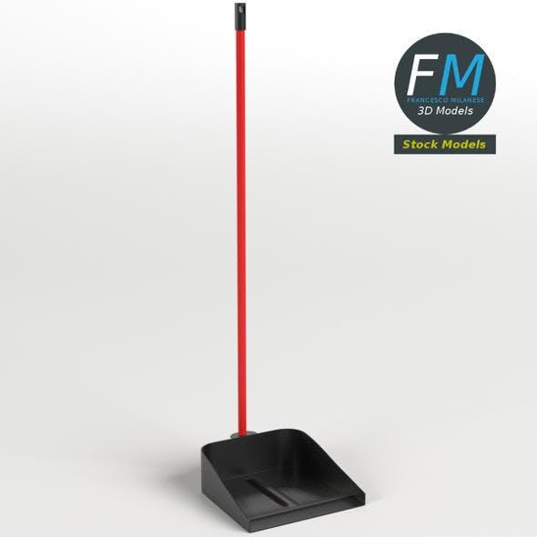 Long handled dustpan - 3DOcean Item for Sale