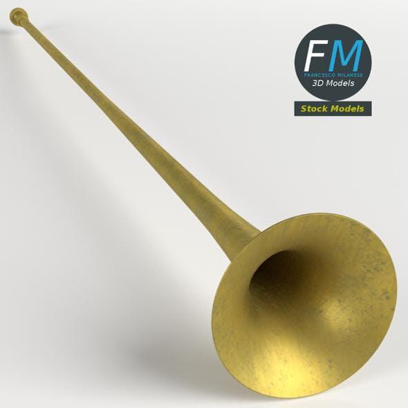 Long trumpet - 3DOcean Item for Sale