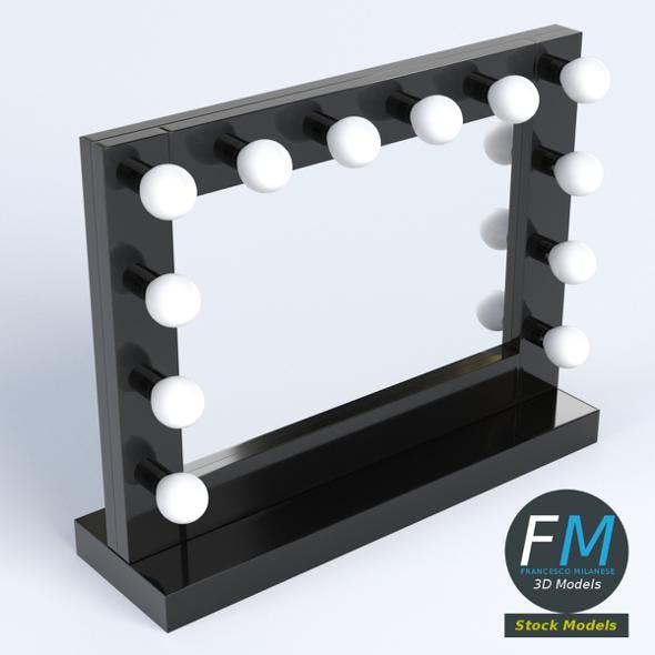 Makeup mirror 2 - 3DOcean Item for Sale