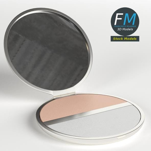 Makeup pocket powder