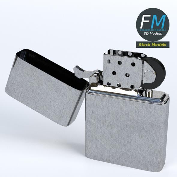 Metal lighter - 3DOcean Item for Sale