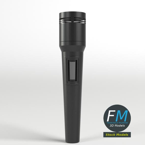 Modern Microphone - 3DOcean Item for Sale