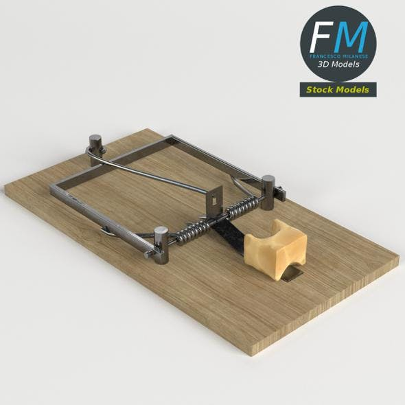 Mouse trap - 3DOcean Item for Sale
