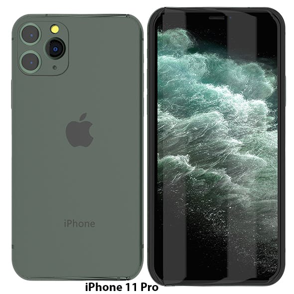 iPhone 11 PRO MAX Realistic Model - 3DOcean Item for Sale