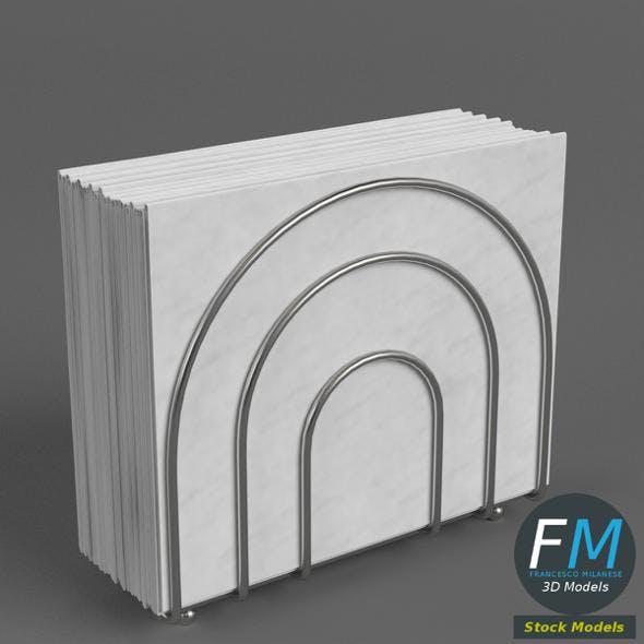 Napkin holder 1 - 3DOcean Item for Sale
