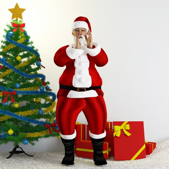 Santa Claus scene