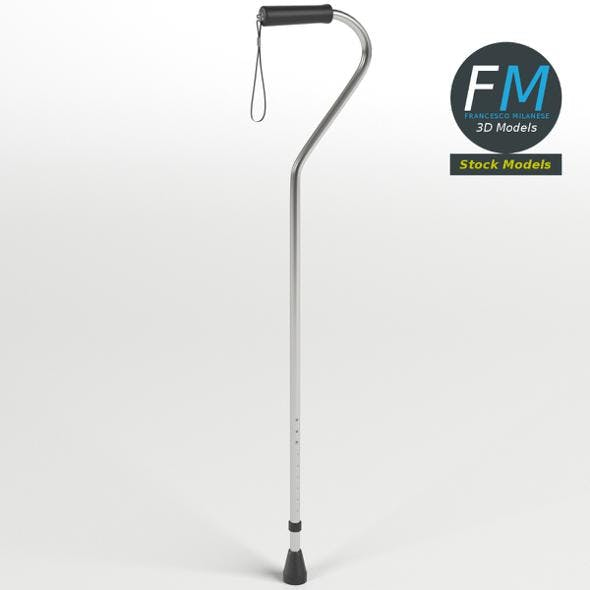 Offset cane - 3DOcean Item for Sale