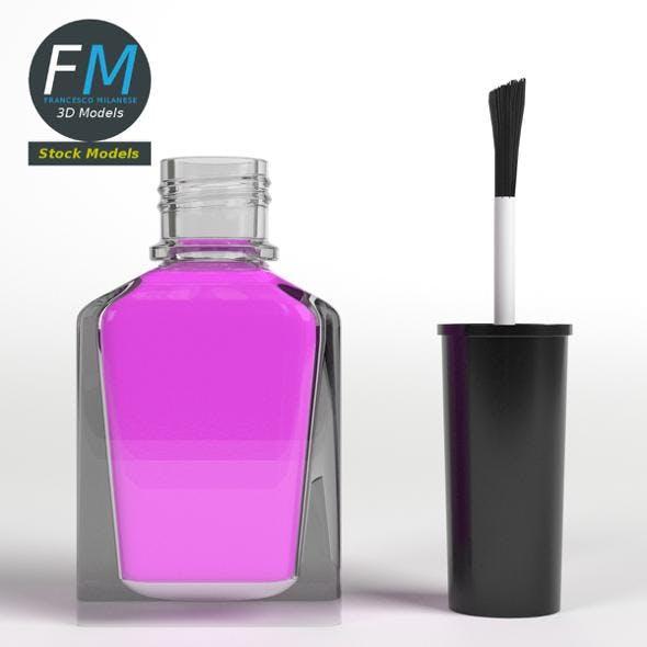 Open nail polish