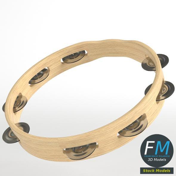 Open tambourine - 3DOcean Item for Sale