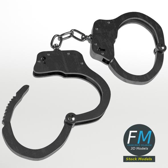 Openable handcuffs