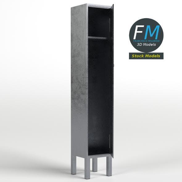 Openable locker - 3DOcean Item for Sale