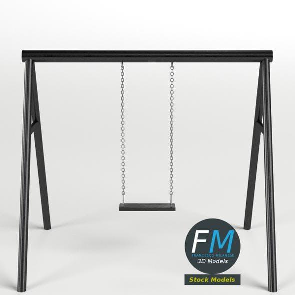 Park swing 1 - 3DOcean Item for Sale