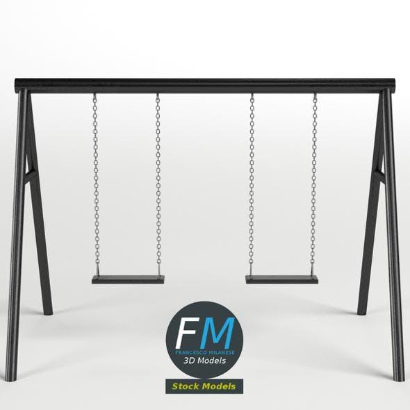 Park swing 2 - 3DOcean Item for Sale