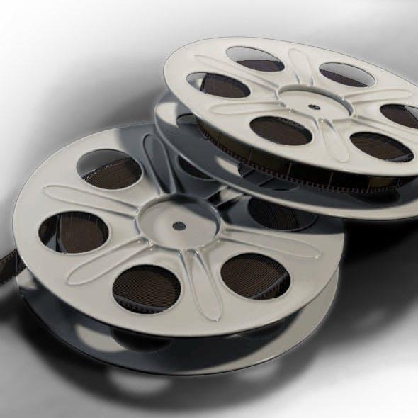 Film Reel - 3DOcean Item for Sale